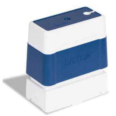 Brother stempel: PR1438E6P 14x38mm blue (Bestel per 6 eenheden) - Blauw