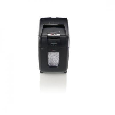 Rexel papierversnipperaar: Auto+ 200X Papiervernietiger Kleine Snippers - Zwart