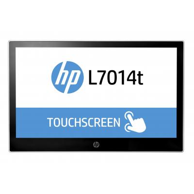 Hp paal display: L7014t 14-inch retail touchmonitor