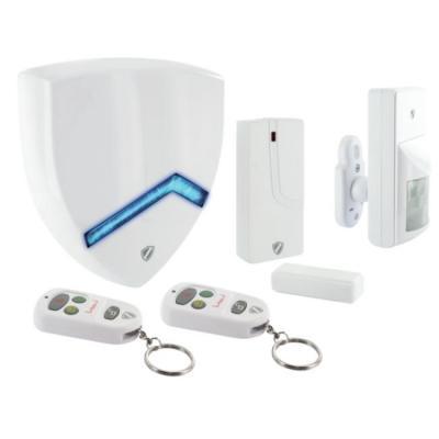 Schwaiger : 868.35 MHz, 120dB, 250m, ABS/Plastic, White - Wit