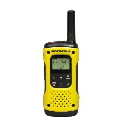 Motorola walkie-talkie: TLKR T92 H2O - Zwart, Geel