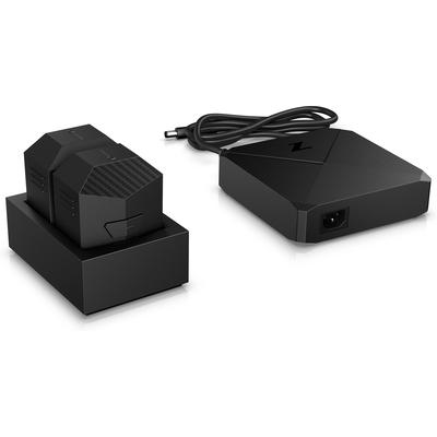 HP Z VR Backpack Battery Charger Oplader - Zwart