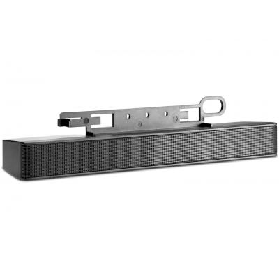 Hp soundbar speaker: LCD Speaker Bar - Zwart