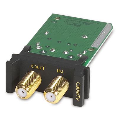 APC Surge Module Coaxial Kabel adapter - Zwart