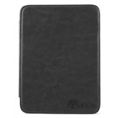 """Icarus e-book reader case: Zwarte beschermhoes voor Illumina XL 8"""" e-reader"""