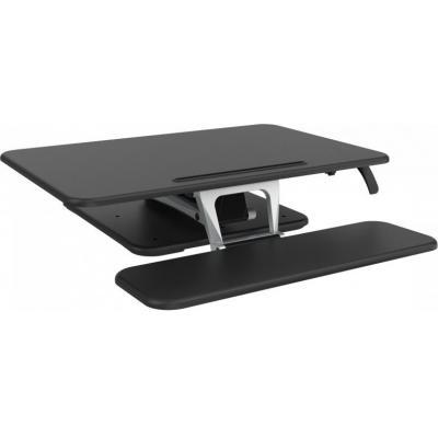 Vision : Sit-Stand Desk Riser - Zwart