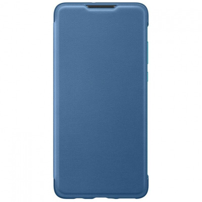 Huawei Wallet Cover, Blue Mobile phone case - Blauw