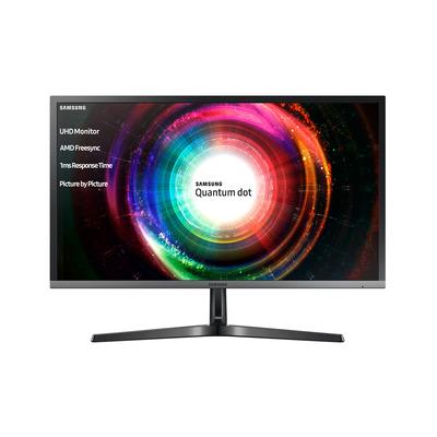 Samsung monitor: U28H750UQU - Zwart