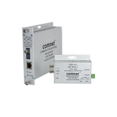 ComNet 10/100 Mbps Ethernet 1310/1550nm Media converter - Zilver
