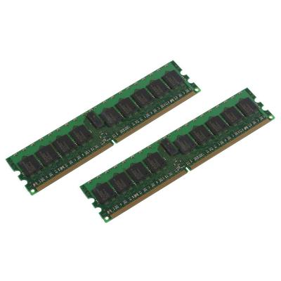 CoreParts 4Gb kit DDR2 400MHz ECC/REG RAM-geheugen