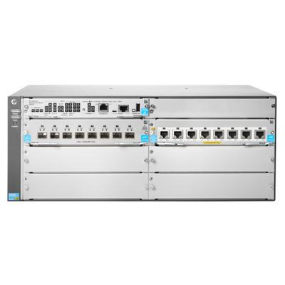 Hewlett Packard Enterprise 5406R 8-port 1/2.5/5/10GBASE-T PoE+ / 8-port SFP+ (No PSU) v3 zl2 .....