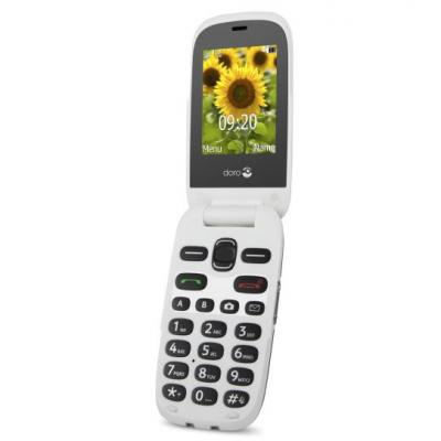 Doro 6030 mobiele telefoon - Grijs, Wit