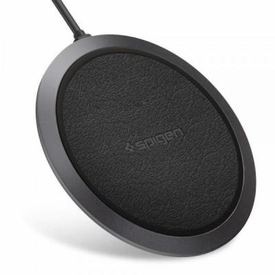 SPIGEN Essential F308W Wireless Fast Charger Black (10W)