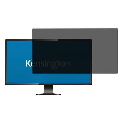 """Kensington Privacy filter - 2-weg verwijderbaar voor 22"""" monitors 16:10 Schermfilter"""