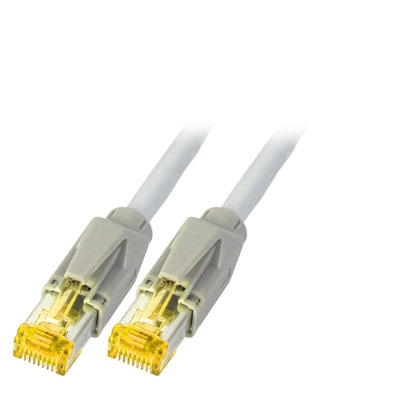 EFB Elektronik Câble Draka CAT 6A/S/FTP Netwerkkabel - Grijs