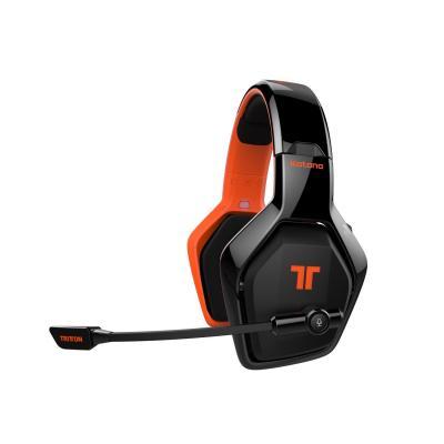 Tritton headset: Katana 7.1 HD - Zwart, Oranje