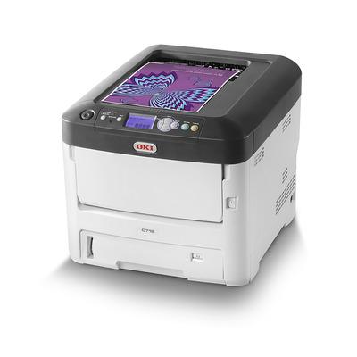 OKI C712dn laserprinter - Zwart, Cyaan, Magenta, Geel
