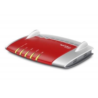 AVM FRITZ!Box 6490 Cable Wireless router - Rood