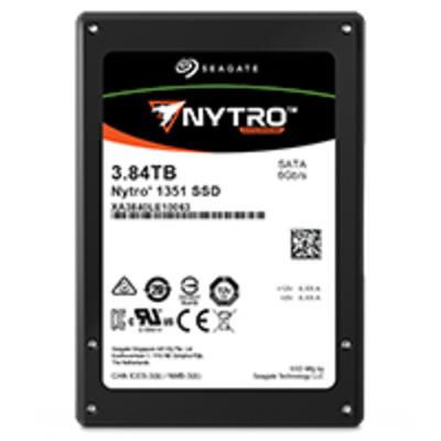 "Seagate Nytro 1351 3.84TB 3D TLC 2,5"" SATA SSD - Zwart"