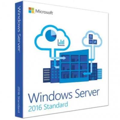 Microsoft software licentie: Windows Server 2016 Standard