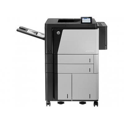 HP LaserJet Enterprise M806x+ NFC/Wireless Direct Laserprinter - Zwart