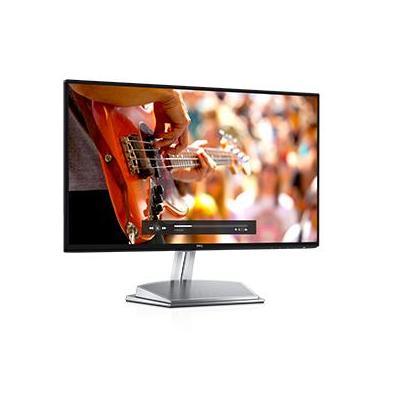 Dell monitor: S Series S2418H - Zwart, Zilver