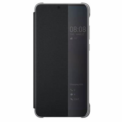 Huawei Smart View Flip Cover Mobile phone case - Zwart, Doorschijnend