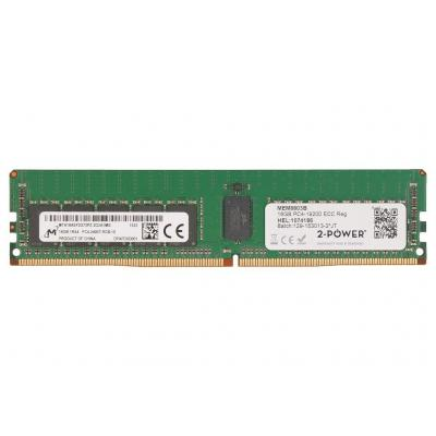 2-power RAM-geheugen: 16GB DDR4 2400MHZ ECC RDIMM Memory - replaces 809082-091