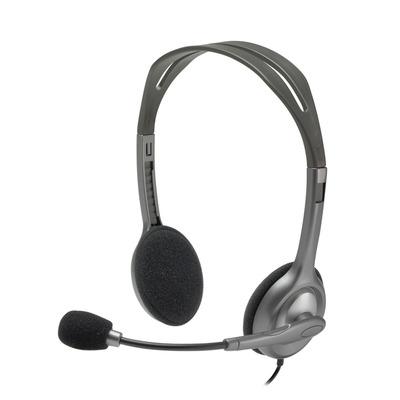 Logitech headset: H111 - Grijs (Open Box)