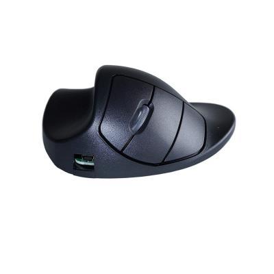 Hippus HandShoeMouse Wireless - Small - Linkshandig computermuis - Zwart