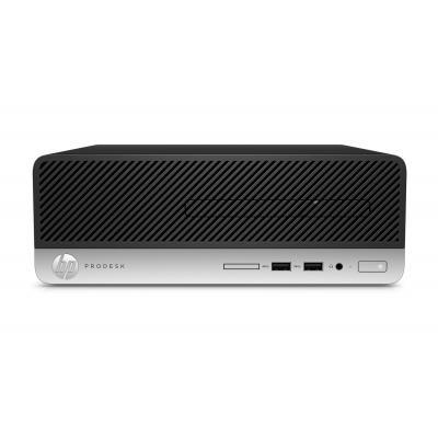 Hp pc: ProDesk 400 G4 SFF i3-7100 128GB - Zwart, Zilver
