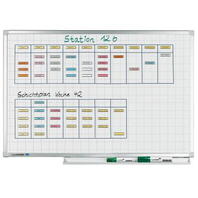 Legamaster Professional gridboard 90 x 120 cm Whiteboard - Wit