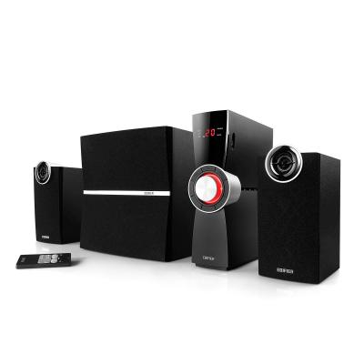 Edifier luidspreker set: 2.1-ch System, 35W+18W RMS, 55Hz-18kHz, Aux in, LED display - Zwart