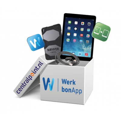 Apple iPad Werkbon box 2 -Air 2 Wi-Fi + Cellular 32GB - Space Gray tablet - Grijs
