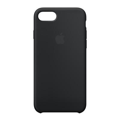 Apple mobile phone case: Siliconenhoesje voor iPhone 8/7 - Zwart