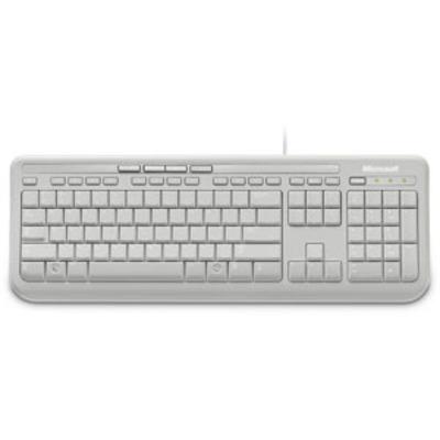 Microsoft Wired Keyboard 600 Toetsenbord - Wit