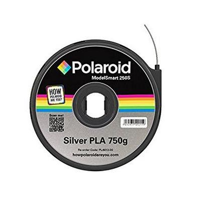 Polaroid 3D printing material: 750g, PLA, Silver - Zilver