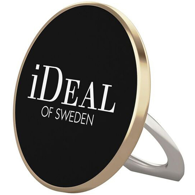 IDeal of Sweden Magnetic Ring Mount Universal Gold Houder - Zwart,Goud