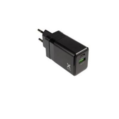 Xtorm 18 W, 1 x USB-C PD, 1 x USB-A QC 3.0, 53 g Oplader - Zwart