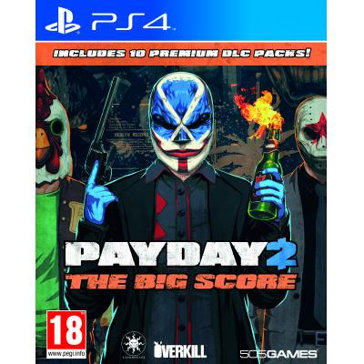 505 games game: Payday 2: The Big Score  PS4