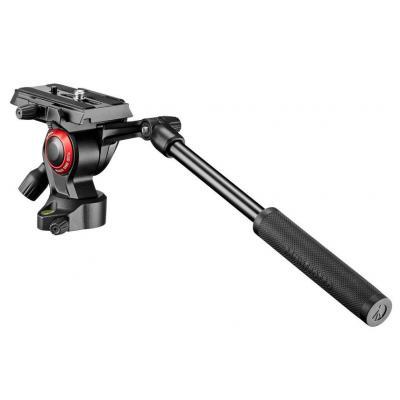 Manfrotto statiefkop: 4kg, -90°/+65°, 43 mm, 380 g - Zwart