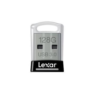 Lexar USB flash drive: JumpDrive S45 128GB - Zwart, Zilver