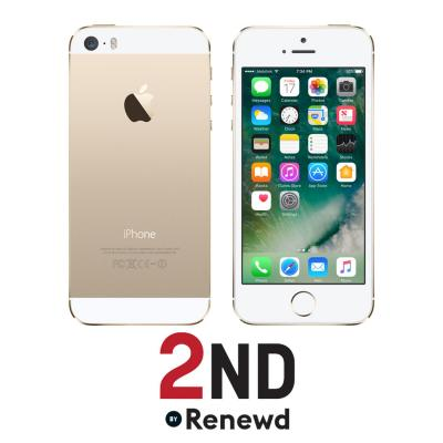 2nd by renewd smartphone: Apple iPhone 5S refurbished door 2ND - 64GB Goud (Refurbished ZG)