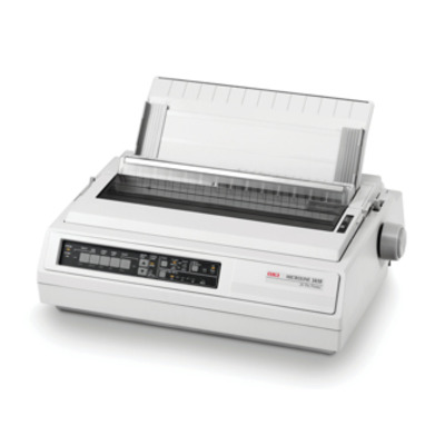 Oki dot matrix-printer: ML3410