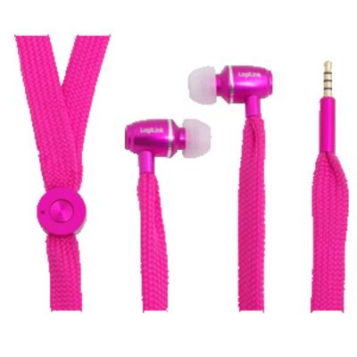 LogiLink HS0026 Headset - Roze