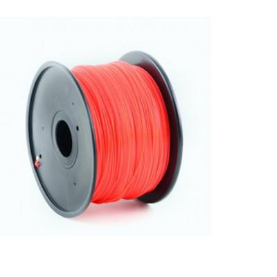 Gembird PLA plastic filament voor 3D printers, 1.75 mm diameter, rood 3D printing material