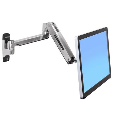 Ergotron LX HD Sit-Stand Monitorarm - Zilver