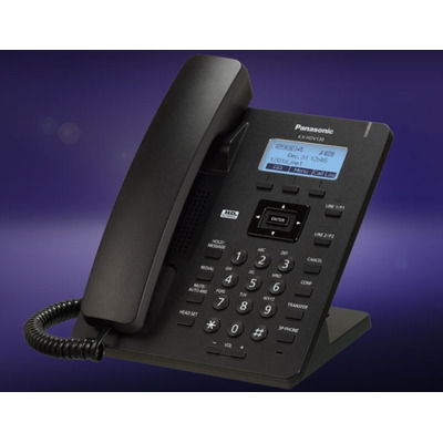 Panasonic ip telefoon: KX-HDV130 - Zwart