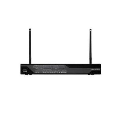 Cisco C887VAG wireless router - Zwart