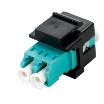 ROLINE Fiber Optic Keystone Jack, LC Duplex, Multimode, OM3 Fiber optic kabel